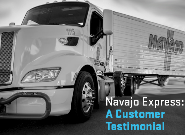 Navajo Express a SuperVision testimonial. SuperVision is better than Samba Safety